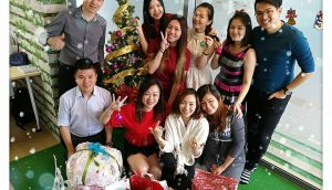Christmas Exchange Gift + Team Lunch