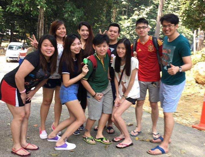 Team building @ Ulu Yam Waterfall